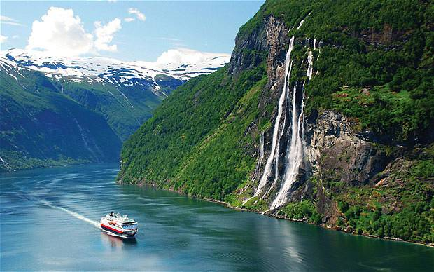 Most Amazing Places In The World Geiranger Fjord