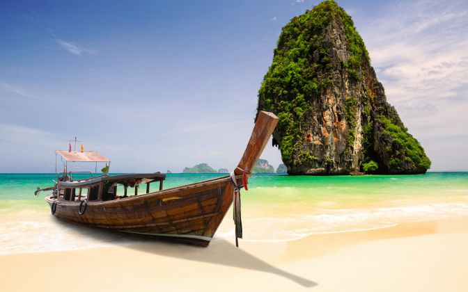 Most Amazing Places In The World Railay Bangkok Thailand