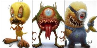 Scary Cartoon Monsters