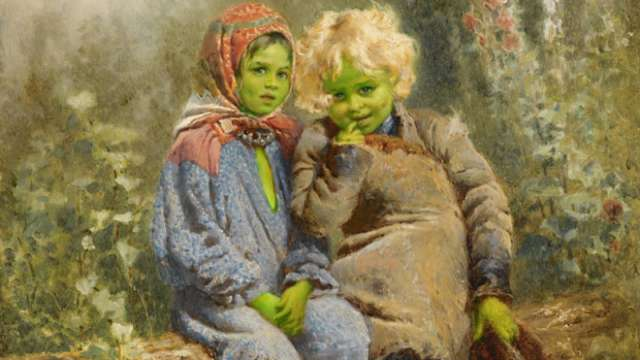 top-10-unsolved-mysteries-of-the-world-green-children-of-woolpit