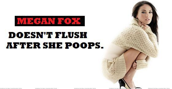 Weird-Habits-of-Celebrities-Megan-Fox
