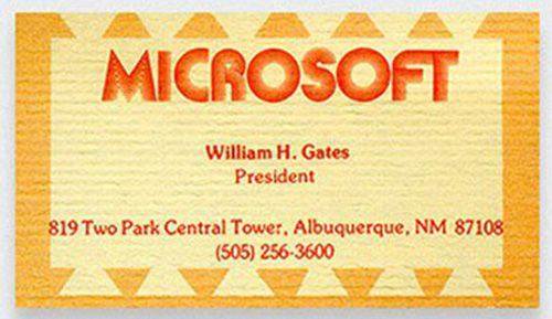 cool-business-cards-bill-gates