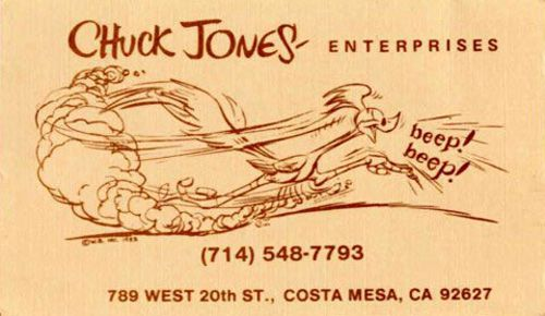 Cool-Business-Cards-Chuck-Jones