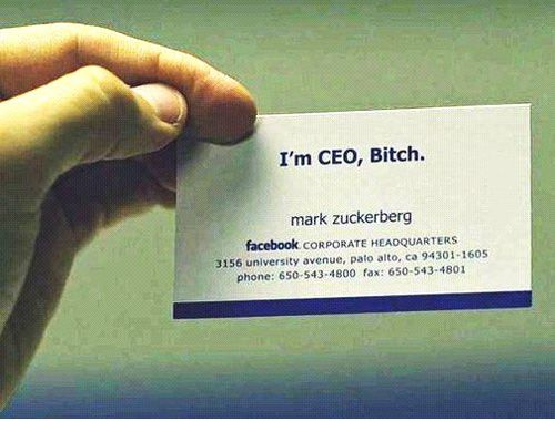 10 Famous People And Their Cool Business Cards