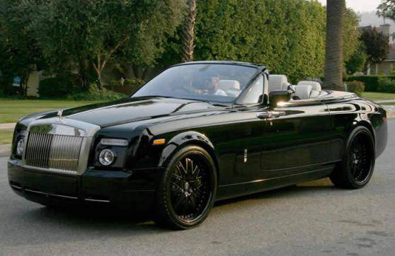 Expensive-Celebrity-Cars-David-Beckham's-Rolls-Royce-Phantom