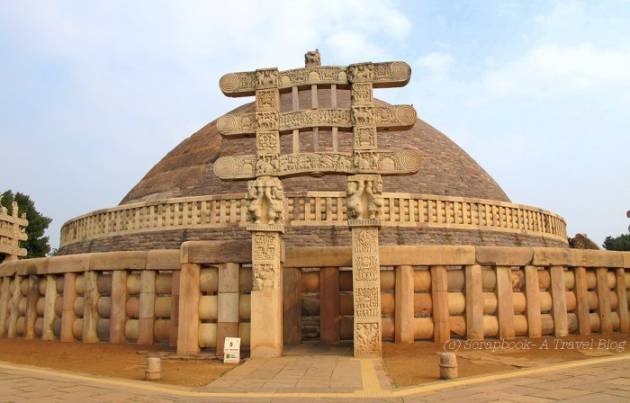 Historical-Places-In-India-Sanchi-Stupa