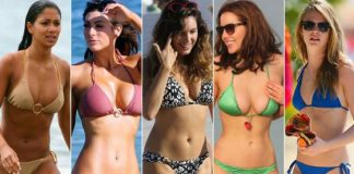 Hottest Hollywood Bikini Bodies
