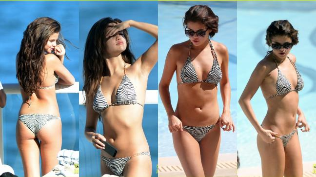 Hottest-Hollywood-Bikini-Bodies-Selena-Gomez