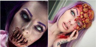 Scary Halloween Makeup Sarah Mudle (20)