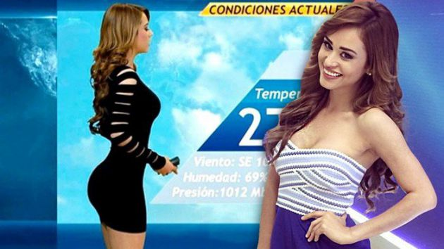 Top 10 Sexiest And Hottest Weather Girls In The World