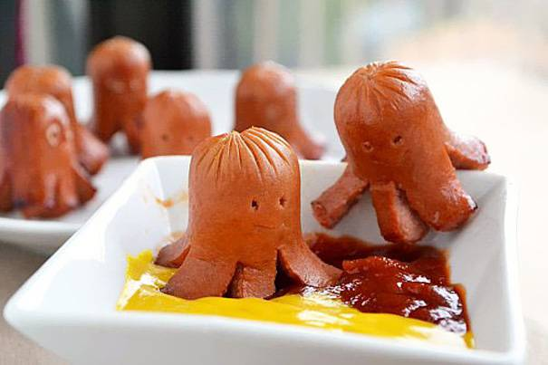 Easy-Food-Art-Kids-Sausage