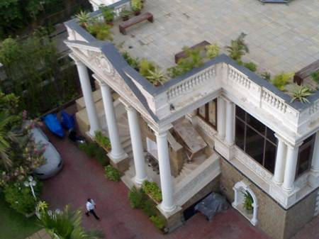 Shahrukh Khans House Mannat Outside View