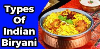 10 Types of Indian Biryani