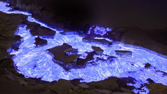 Burning-Blue-Lava