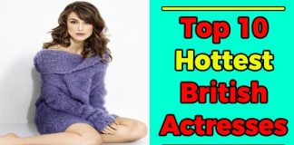 Hottest British Actresses