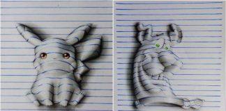 3D Cartoon Drawings
