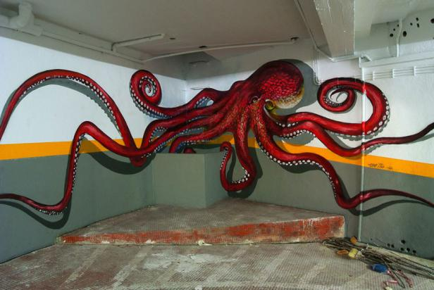 10 Best Graffiti Art From Around The World That Will Blow Your Mind