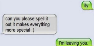 Funny Break Up Texts