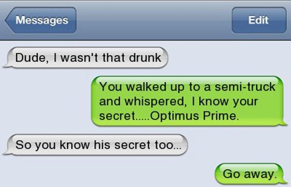 Well Drunk People Are The Source Of The Funniest Text Messages