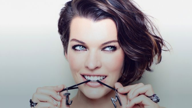 Most Beautiful Eyes Milla Jovovich