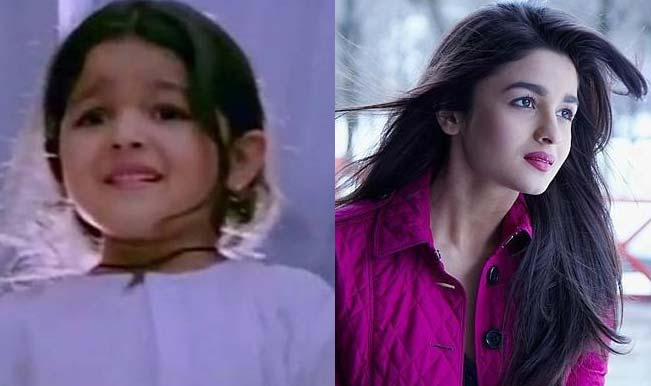 Alia-Bhatt-Childhood-And-Now