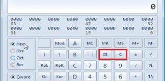 Difference Between C And CE Buttons On Your Calculator (2)
