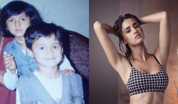 Disha-Patani-Childhood-And-Now