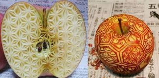 Food Carvings Japanese Artist Gaku