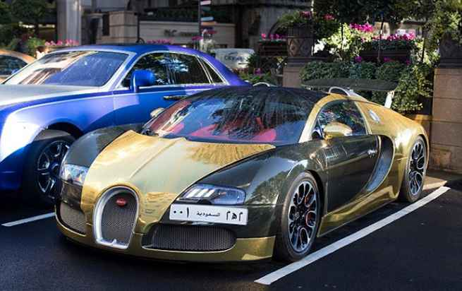Gold-Plated-Bugatti-Veyron-10-Million-USD