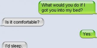 Perfect Response To Flirty Messages
