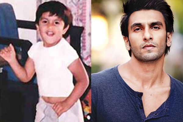 Ranveer-Singh-Childhood-And-Now