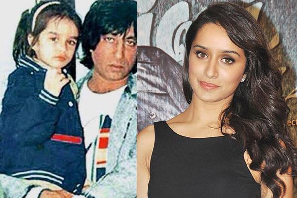 Shraddha-Kapoor-Childhood-And-Now