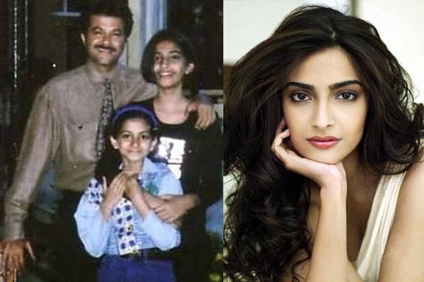 Sonam-Kapoor-Childhood-And-Now