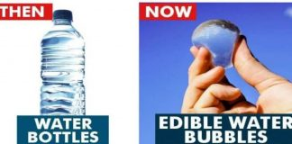 Edible Water Bubbles