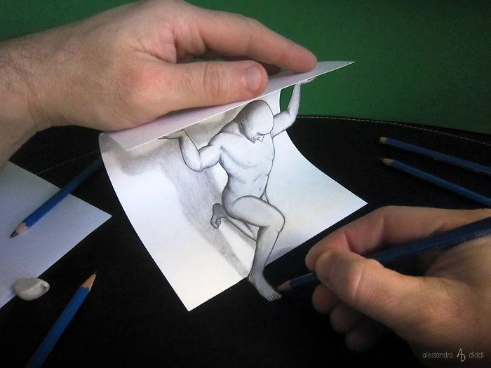 3d-Illusions-Pencil-Drawings-3