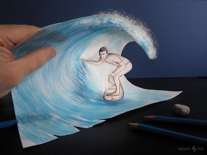 3d-Illusions-Pencil-Drawings-8