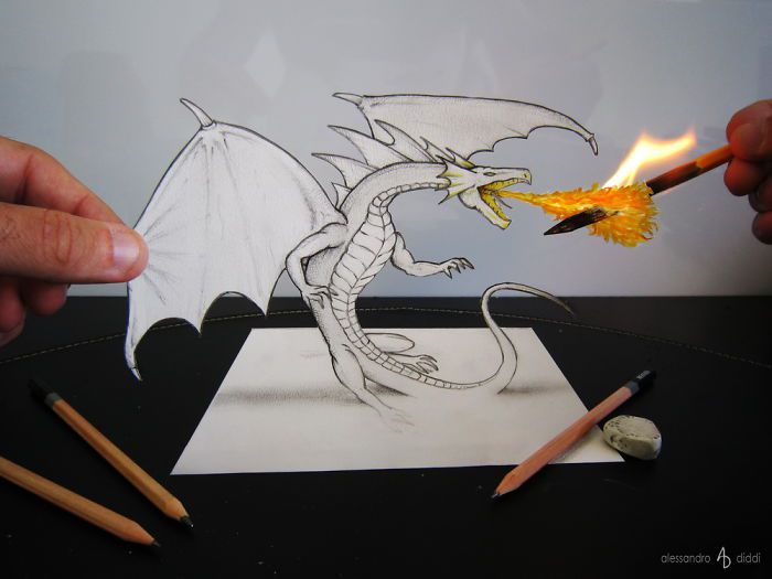 3d-Illusions-Pencil-Drawings-9