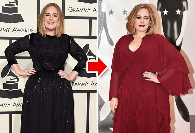 Celebrities-who-have-gained-a-lot-of-weight-Adele