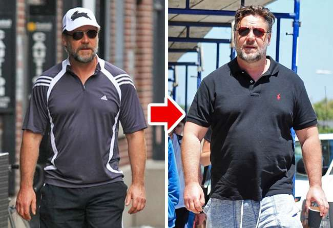 Celebrities-who-have-gained-a-lot-of-weight-Russell-Crowe