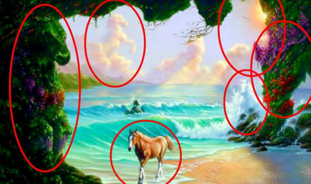 Can You Find The 6 Horses Hiding In This Painting Only 3 People Can