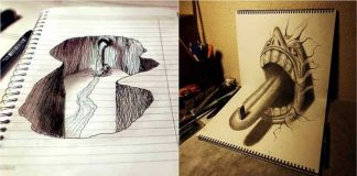 Unbelievable 3D Drawings