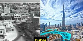Before And After Photographs Of Famous Cities