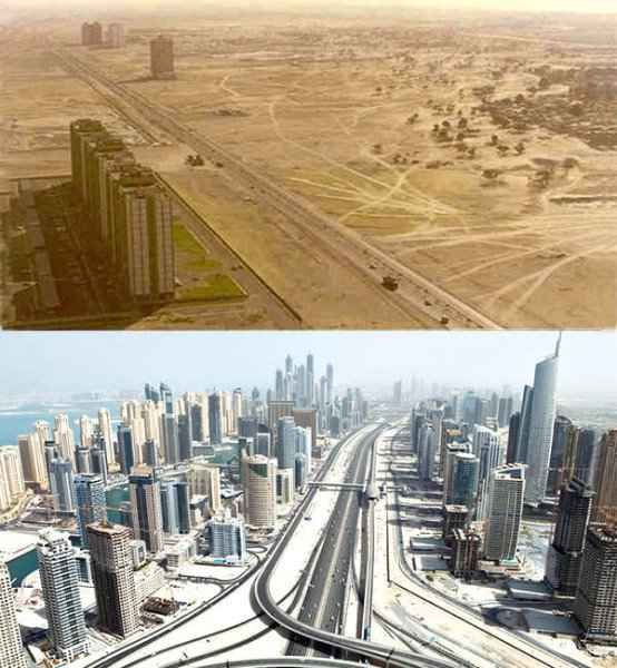 Before-After-Dubai-United-Arab-Emirates