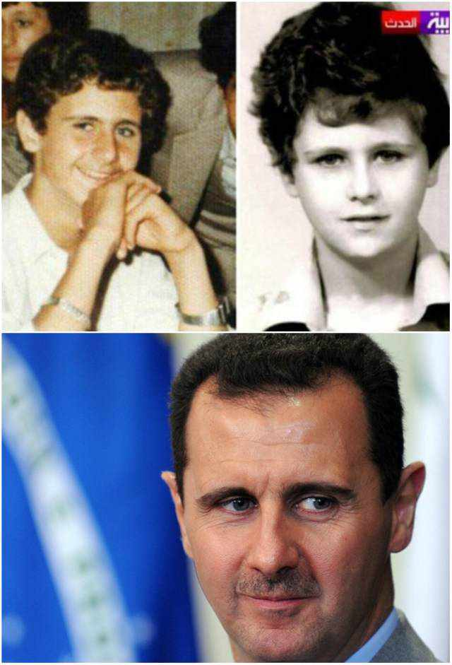 Childhood-Photo-of-Bashar-al-Assad