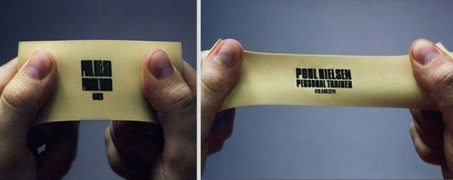 Personal-trainer's-business-card