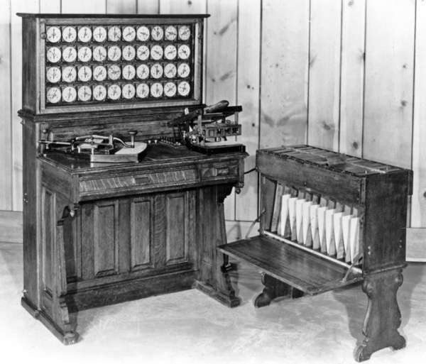 IBM-Weighing-Machine