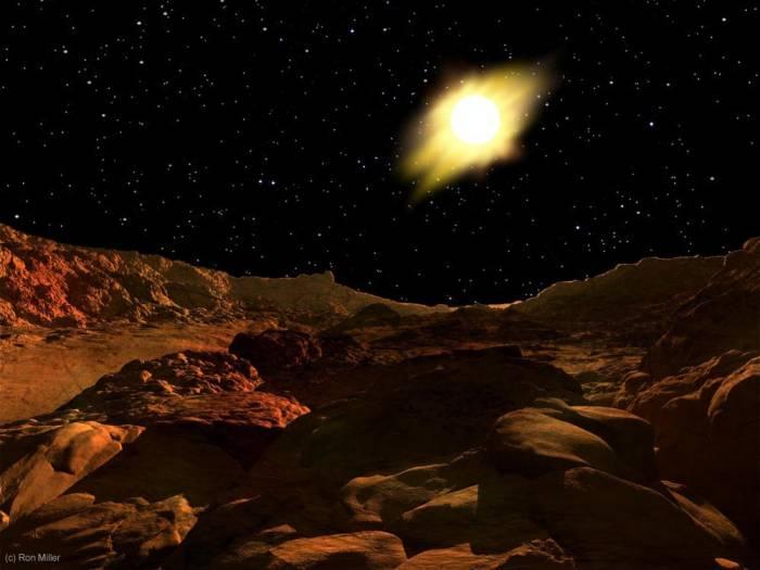 Восход Солнца-Меркурий