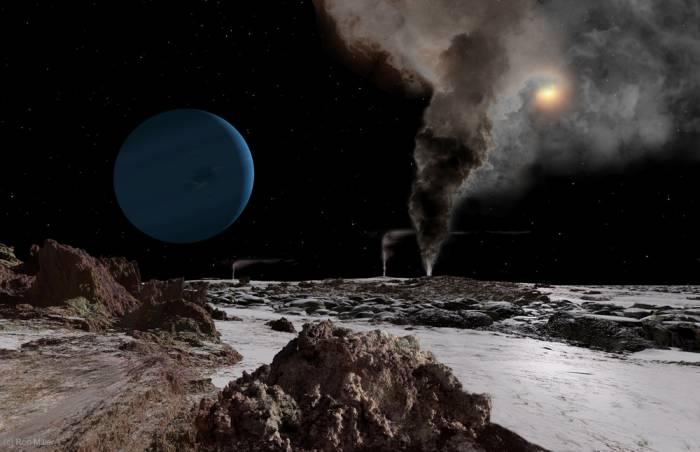 Восход Солнца-Нептун