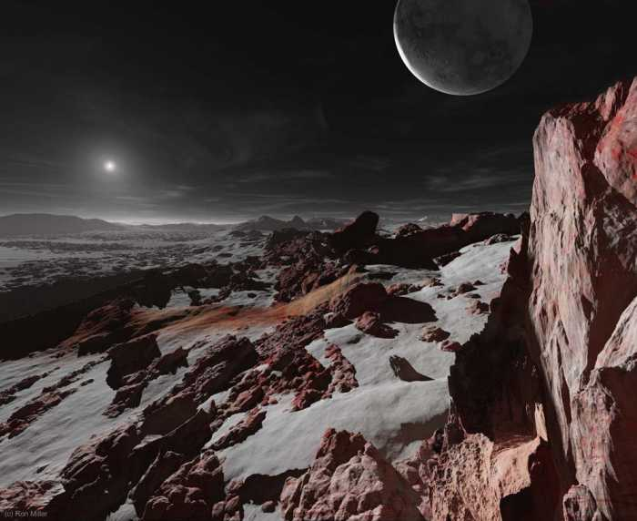 Восход Солнца-Плутон