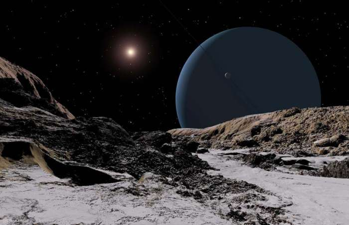 Восход Солнца-Уран